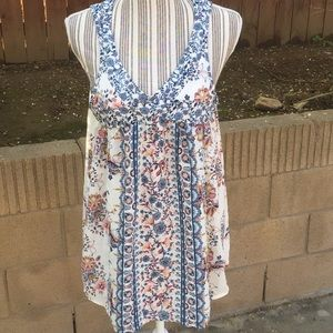 Knox Rose floral tunic